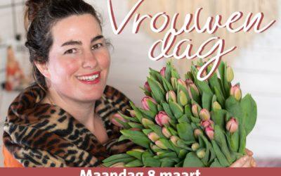 Plantion en bloemisten zetten internationale vrouwendag op de kaart
